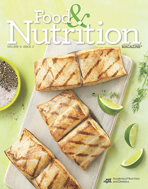 Food and Nutrition Magazine Cover: Volume 9, Issue 3