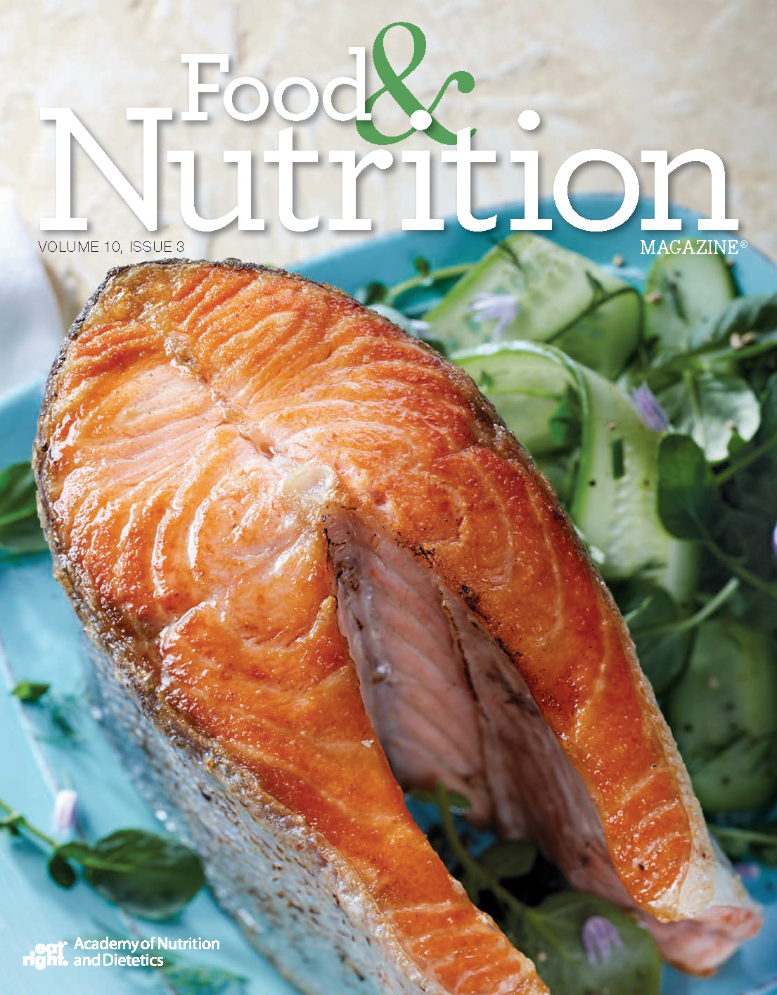 Food and Nutrition Magazine Cover: Volume 10, Issue 3