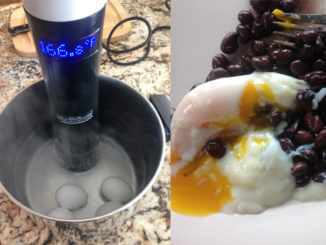 Fudgy, Silken, Sous-Vide Style Eggs, Coming Right Up!