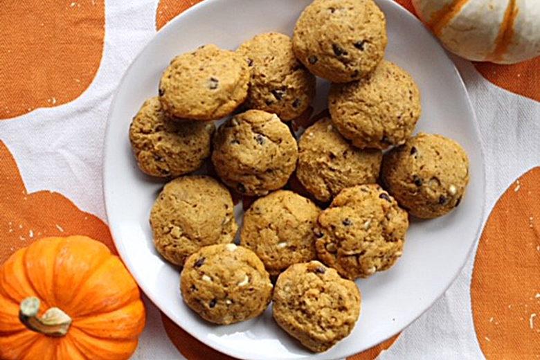 Gluten-free, Dairy-Free Pumpkin Chocolate Chip Cookies