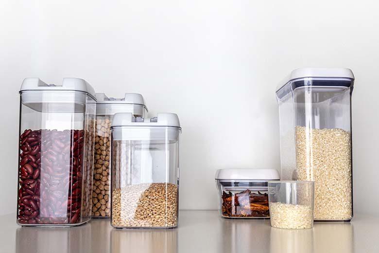 Healthy Kitchen Hacks: Pantry Storage Basics   Food & Nutrition Magazine   Volume 10, Issue 4