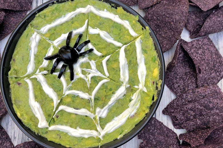 Halloween Guacamole - Food & Nutrition Magazine - Stone Soup