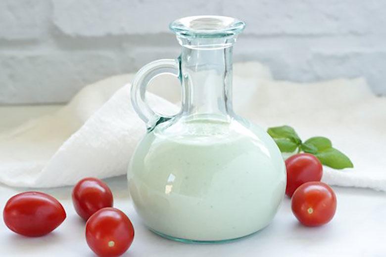 Healthier Blue Cheese Vinaigrette Dressing - Food & Nutrition Magazine - Stone Soup