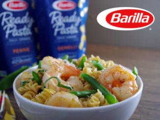 Barilla Ready Pasta with Shrimp & Green Beans