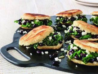 Kale, Onion and Black Bean Arepas | Food & Nutrition Magazine | Volume 9, Issue 1
