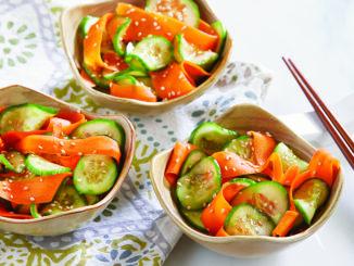 Japanese-Style Cucumber Salad