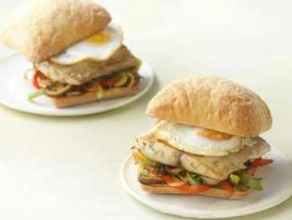 Savory Mahi-Mahi and Egg Breakfast Sandwich | Food & Nutrition Magazine | Volume 9, Issue 3
