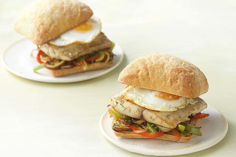Savory Mahi-Mahi and Egg Breakfast Sandwich | Food & Nutrition Magazine | Volume 9, Issue 3