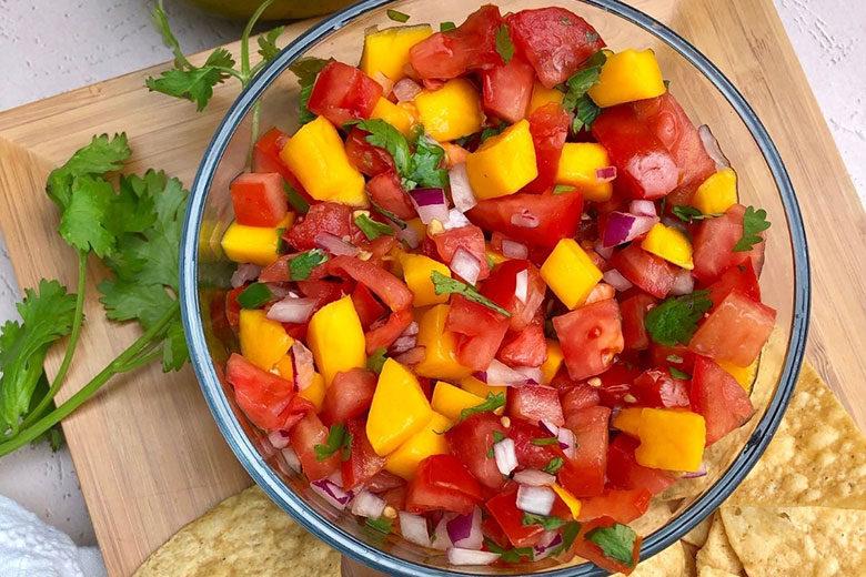 Mango Pico De Gallo - Food & Nutrition Magazine - Stone Soup