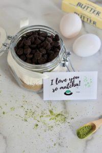 Matcha Brownies -