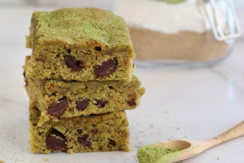 Matcha Brownies - Food & Nutrition Magazine - Stone Soup
