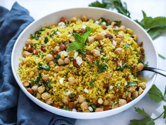 Moroccan Spiced Orange Couscous