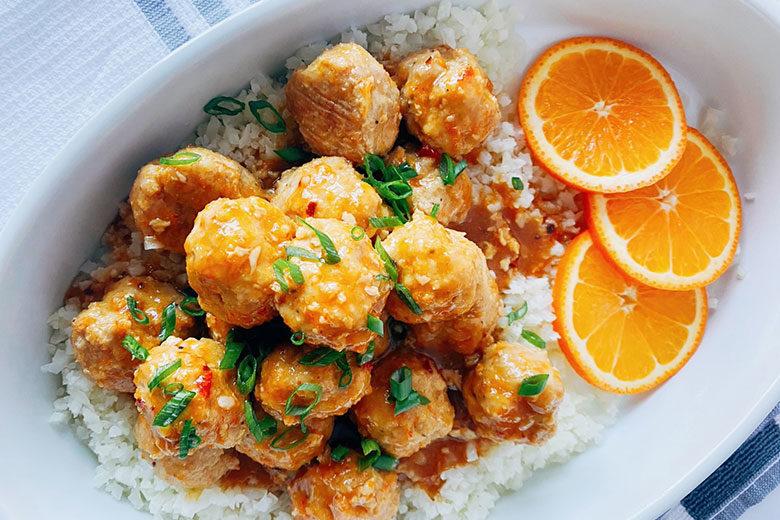 Orange Chicken Meatballs - Food & Nutrition Magazine - Stone Soup