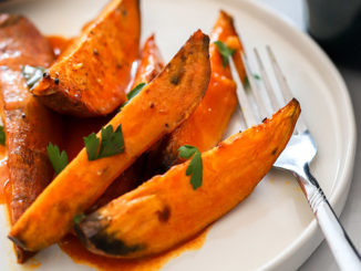 Orange Glazed Sweet Potatoes