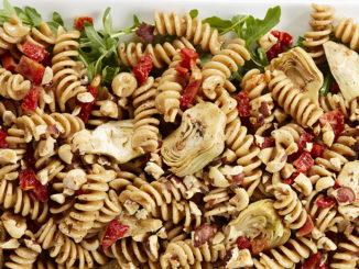 Warm Tuscan Pasta Salad | Food & Nutrition Magazine | Volume 10, Issue 3