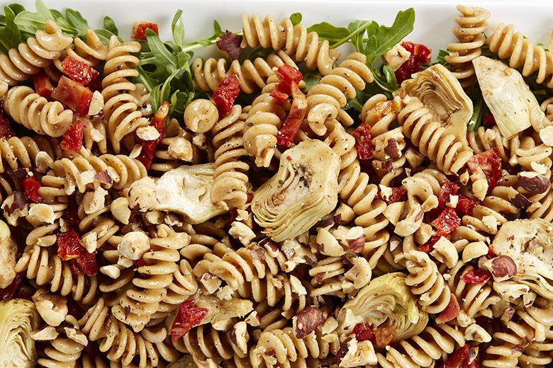 Warm Tuscan Pasta Salad   Food & Nutrition Magazine   Volume 10, Issue 3
