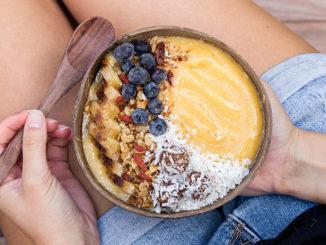 Peach Mango Smoothie - Food & Nutrition Magazine - Stone Soup