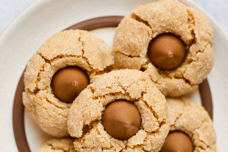 Peanut Butter Blossom Cookies - Food & Nutrition Magazine - Stone Soup
