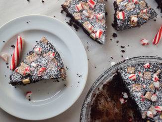 Peppermint Chip Almond Flour Brownies - Food & Nutrition Magazine - Stone Soup