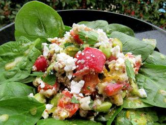 Quinoa Edamame Salad with Citrus Vinaigrette