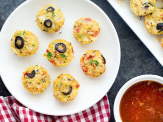 Cheesy Quinoa Pizza Bites - Food & Nutrition Magazine - Stone Soup