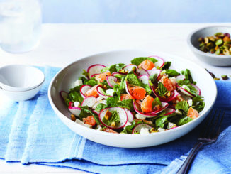 Radishes and Ricotta Salata Salad | Food & Nutrition Magazine | Volume 9, Issue 2