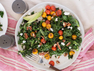 Sautéed Kale Salad - Food & Nutrition Magazine - Stone Soup