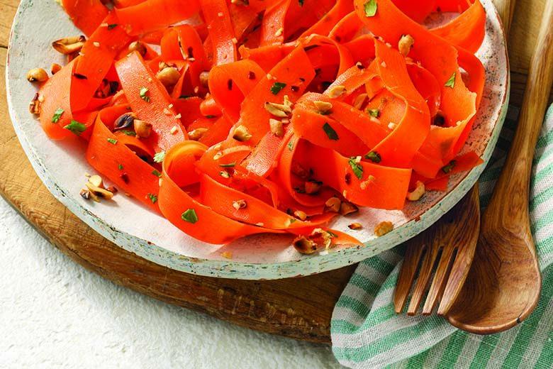 Sesame Carrot Noodle Salad | Food & Nutrition Magazine | Volume 9, Issue 1