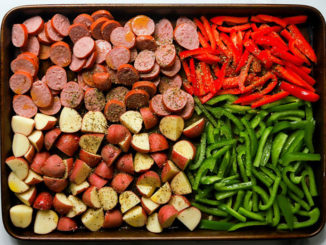 Sheet Pan Sausage and Potatoes - Food & Nutrition Magazine - Stone Soup