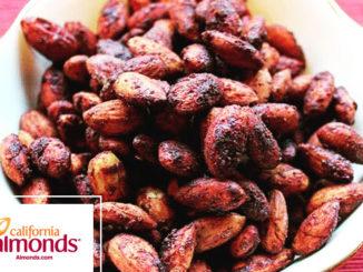Spicy Tamari-Roasted Almonds