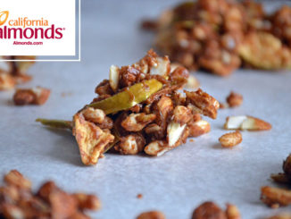 Spiced Apple Almond Cluster