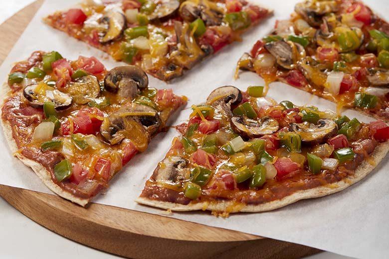 Stovetop Vegetarian Tortilla Pizza | Food & Nutrition Magazine | Volume 10, Issue 4