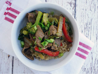 Teriyaki Beef Rice Bowl