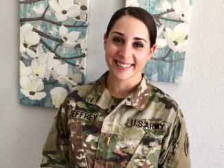 Military dietitian Renee Jeffrey