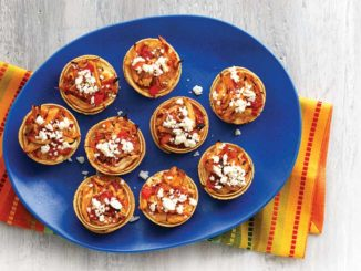 Baked Chicken Tortilla Cups