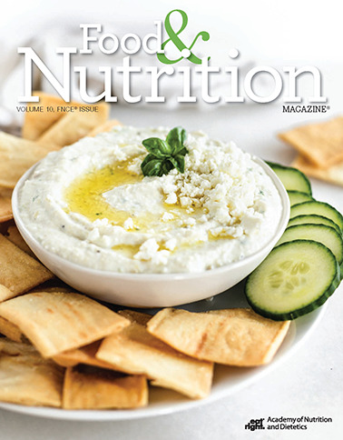 Food & Nutrition Magazine, Volume 10 - FNCE Issue, Cover Image