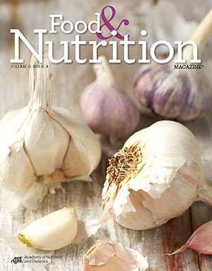 Food and Nutrition Magazine Cover: Volume 9, Issue 4
