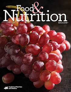 Food and Nutrition Magazine Cover: Volume 9, FNCE Issue