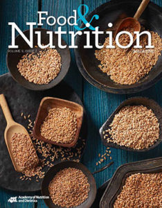 Cover of Volume 9, Issue 2 of Food and Nutrition Magazine
