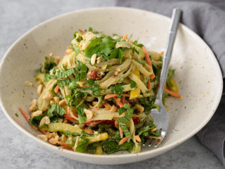 Vegetable Thai Noodle Salad