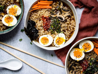 Quick Vegetarian Ramen - Food & Nutrition Magazine - Stone Soup