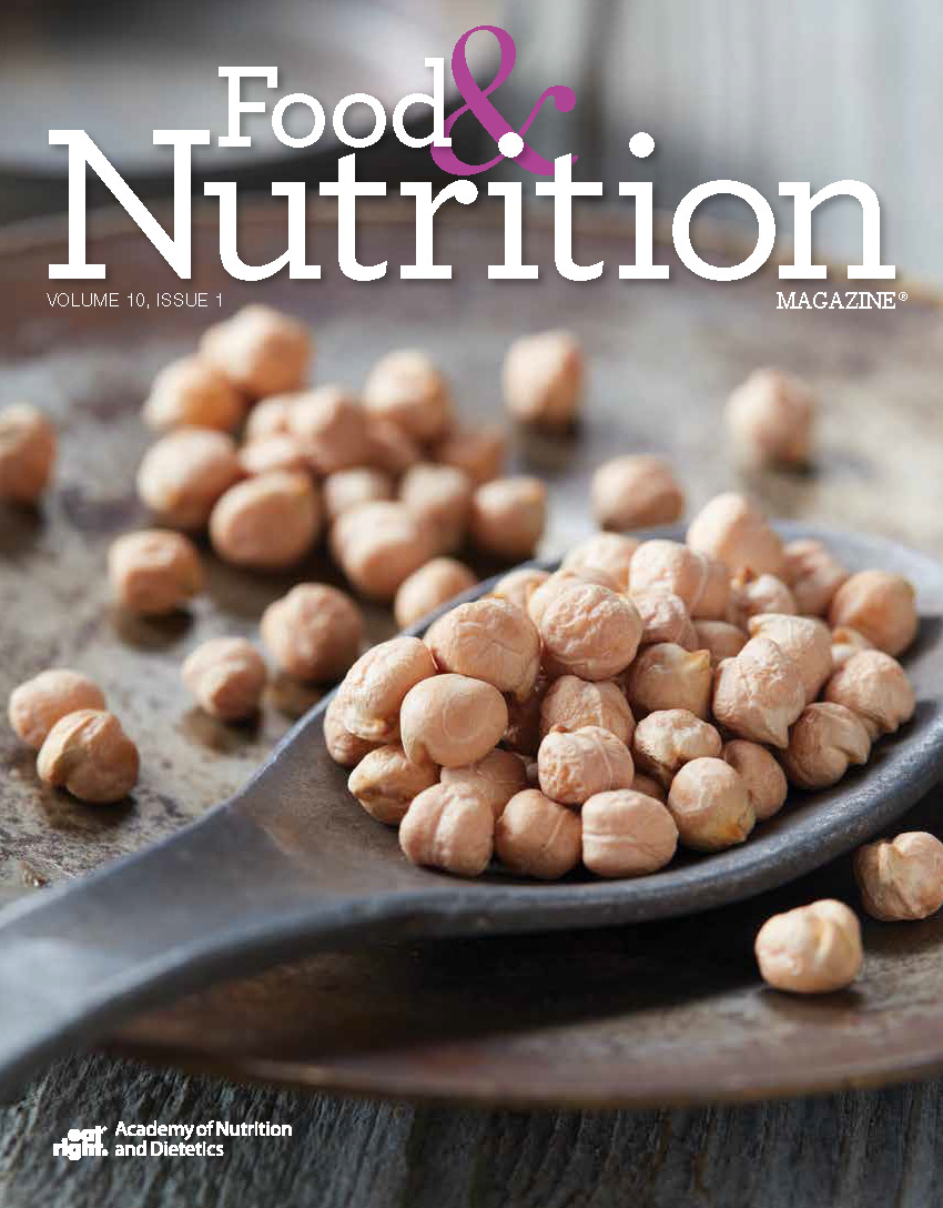 Food and Nutrition Magazine Cover: Volume 10, Issue 1