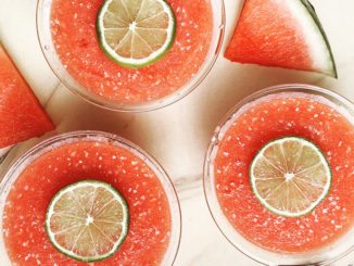 Watermelon Coconut Lime Ice - Food & Nutrition Magazine - Stone Soup