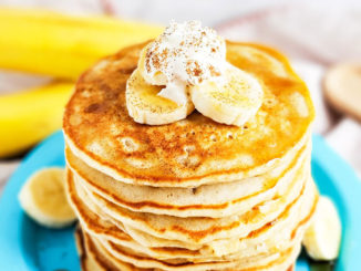 Fluffy Banana Cinnamon Pancakes - Food & Nutrition Magazine - Stone Soup