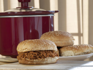Crock-Pot BBQ Chicken Sandwich