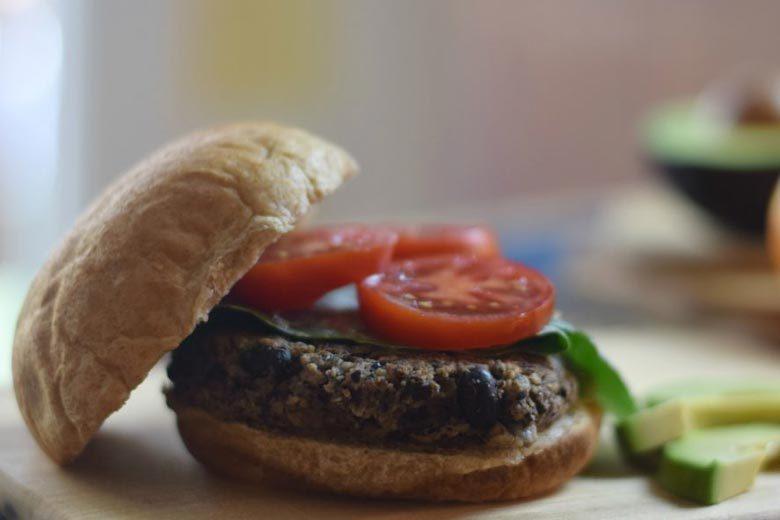 Easy Black Bean Burger Recipe | Food & Nutrition | Stone Soup
