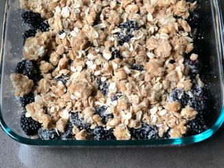 Blackberry Oat Crisp - Food & Nutrition Magazine - Stone Soup