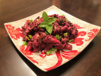 Blush Beet Verdant Pasta - Food & Nutrition Magazine - Stone Soup