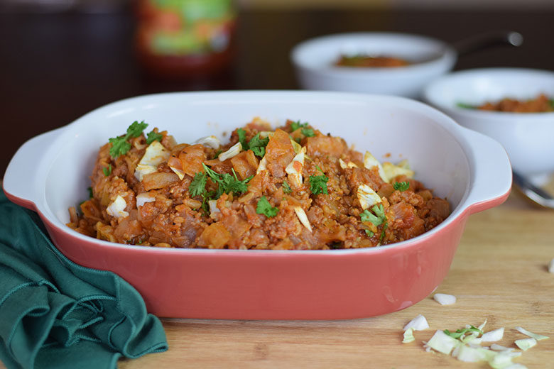 One Pot Unstuffed Cabbage
