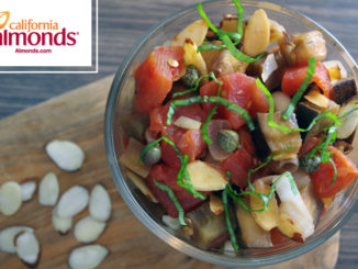 Caponata with Toasted Almonds